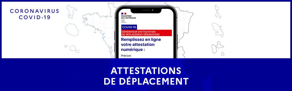 #Covid 19 #Attestation Dérogatoire