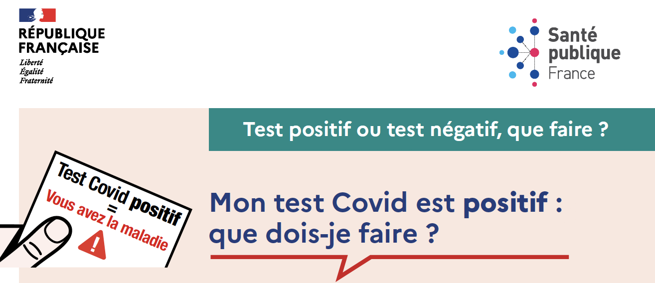 #Covid-19 # Que faire ? #Fiche Reflexe